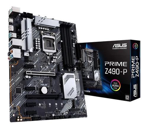 MOTHER ASUS PRIME Z490-P LGA1200
