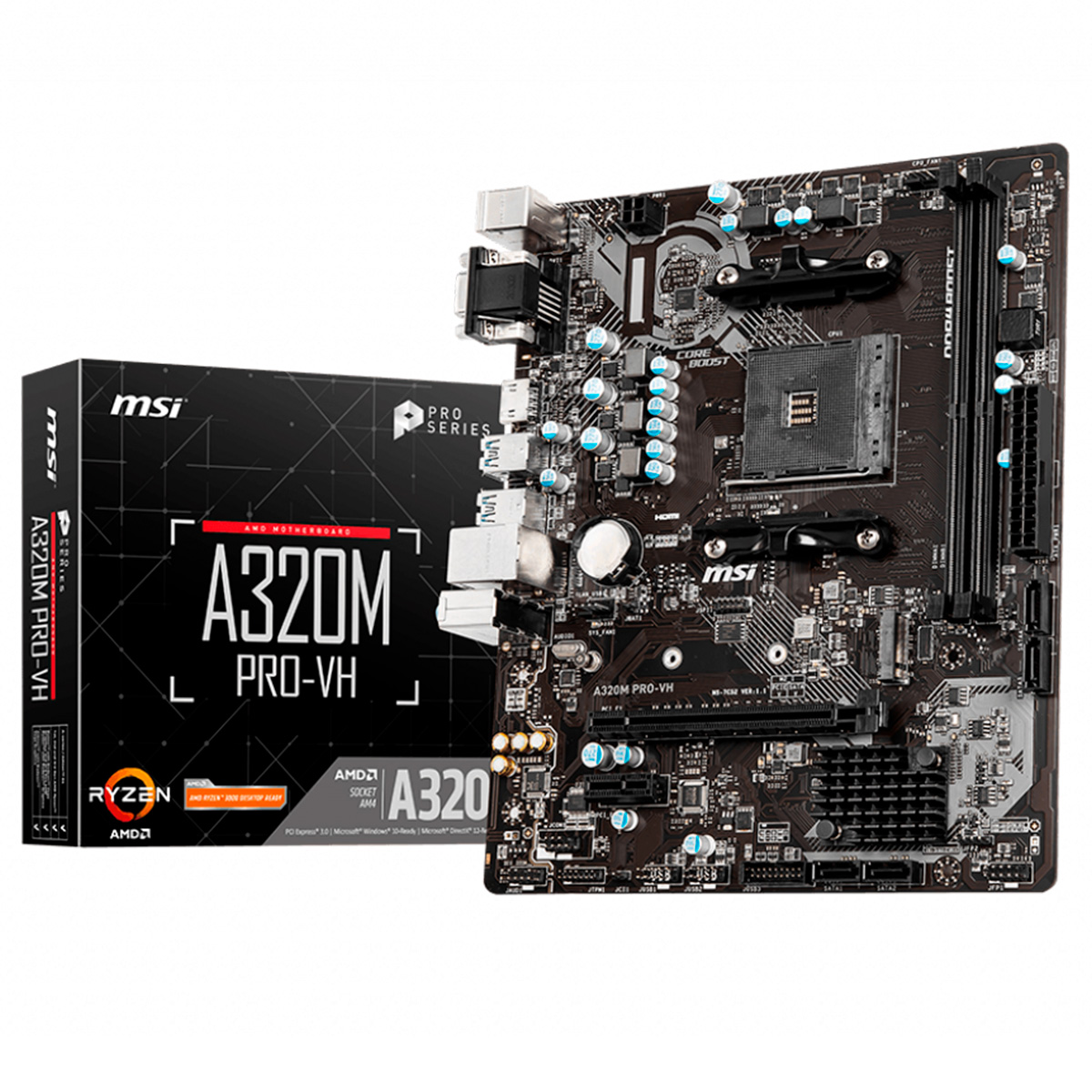 MOTHER MSI A320M PRO-VH AM4