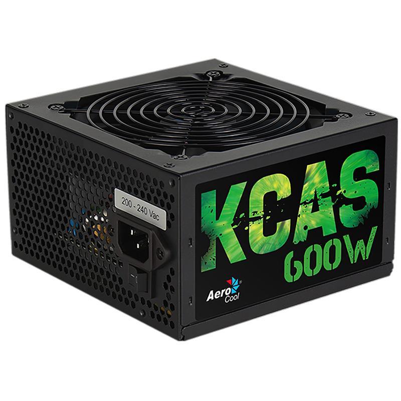 Fuente 600w 80+ Bronze Kcas Aerocool