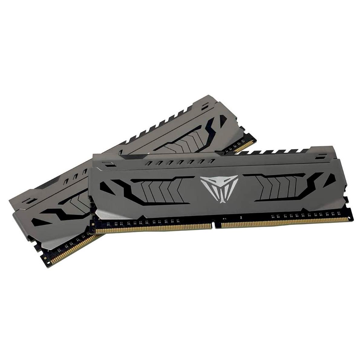MEMORIA 16GB 2X8 DDR4 3200MHZ STEEL VIPER PATRIOT
