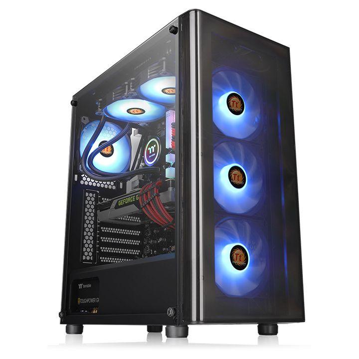 GABINETE V200 TG RGB THERMALTAKE