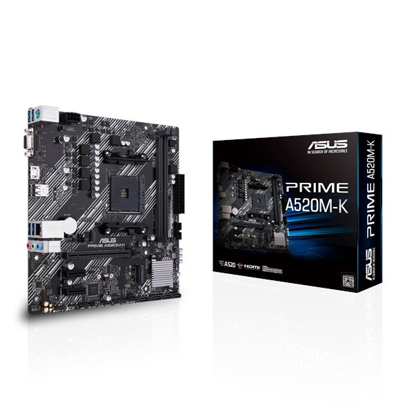 MOTHERBOARD A520M-K ASUS AM4