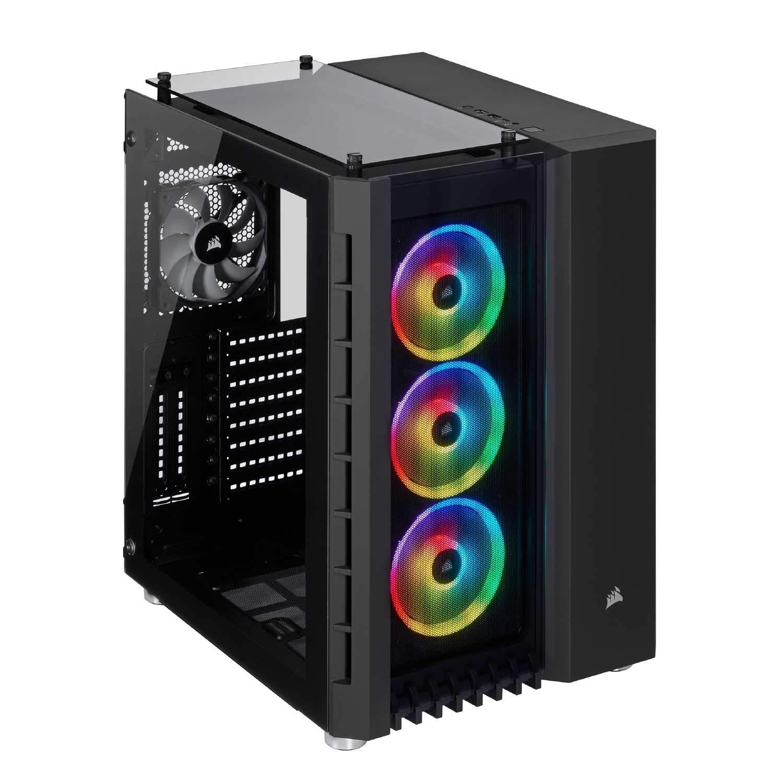 GABINETE 680X CRYSTAL TG SMART BLACK RGB CORSAIR